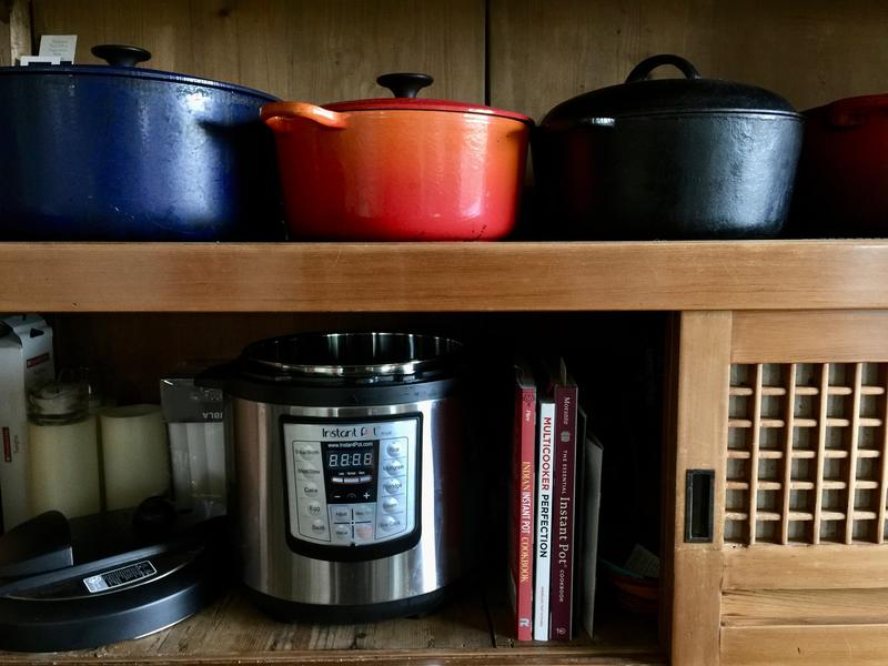 Nancy's IP takes its place among her old-school cookers.