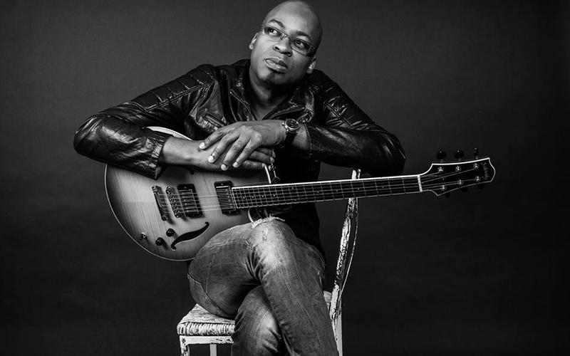 Lionel Loueke leads his trio at the Royal Room Thursday, April 19th.