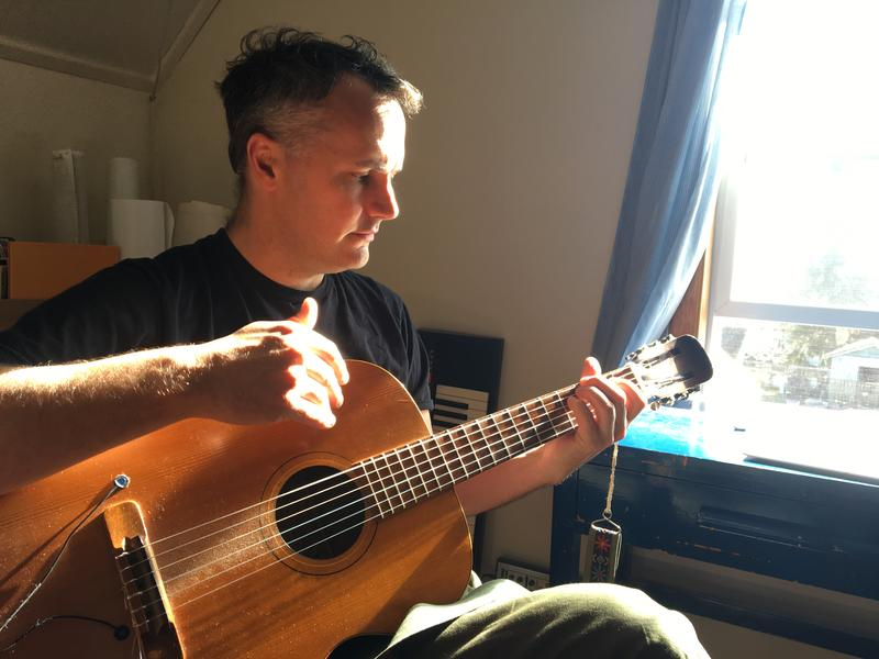 Phil Elverum of Mount Eerie recorded his last two albums in a spare room in his house in Anacortes, Wash.