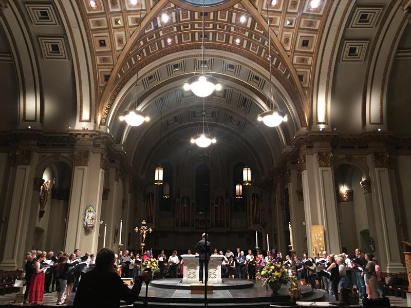 St. James Cathedral and Seattle Pro Musica