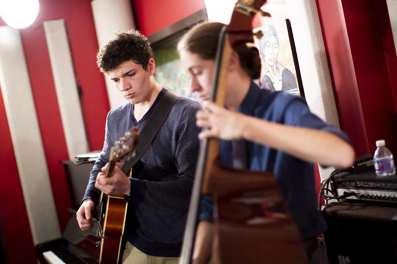 Mountlake Terrace students, playing in a recent KNKX Studio Session, are from one of three high schools from the state participating in the annual competition.