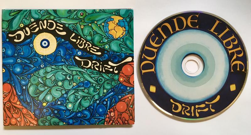 Duende Libre's new second album, Drift. Out now!