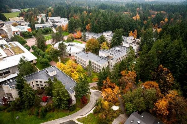 evergreen state college is cutting jobs because of projected
