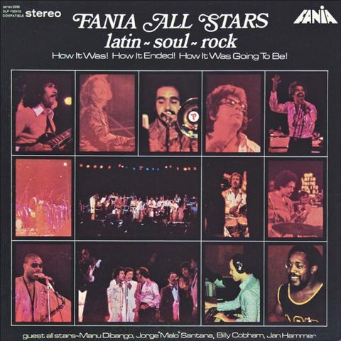 1974 album cover Fania All Stars Latin Soul Rock