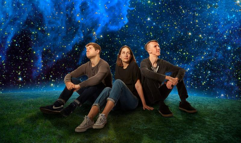 TrioKAIT - Jake Reed/Kait Dunton/Cooper Appelt - are looking to the stars and beyond on their new album.