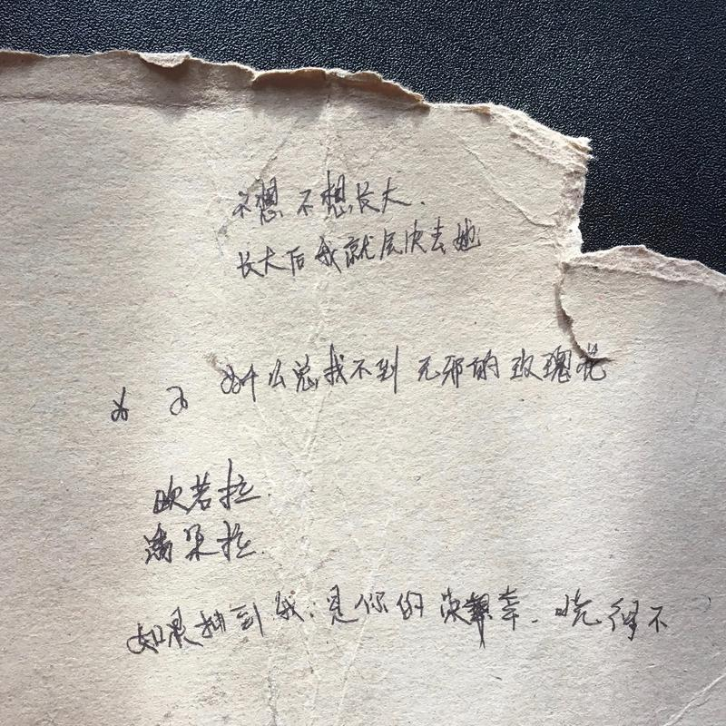 The mysterious poem from Taiwan.