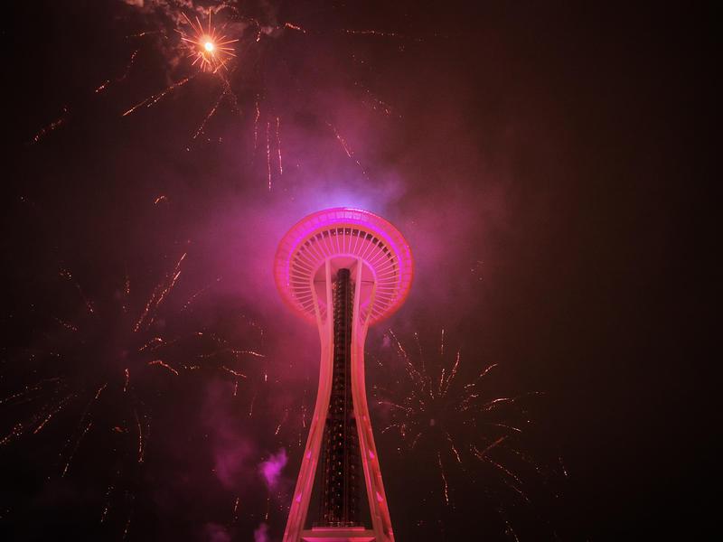 Seattle Fireworks, 2017
