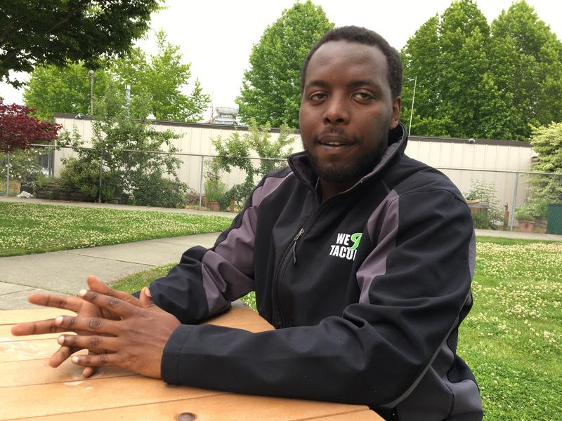 Marquis McCrary spent stretches of his early twenties homeless in Tacoma