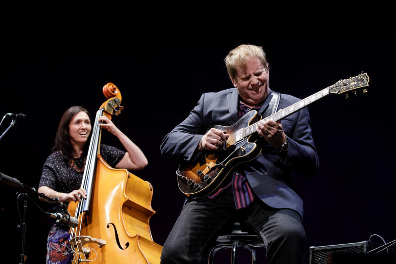 Katie Thiroux and Dave Stryker