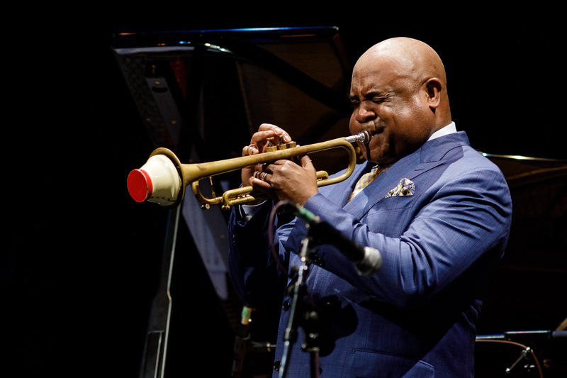 Terell Stafford at Jazz Port Townsend 2018.