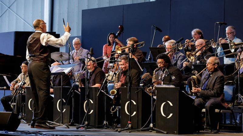 Centrum All Star Big Band in concert at Jazz Port Townsend, 2018