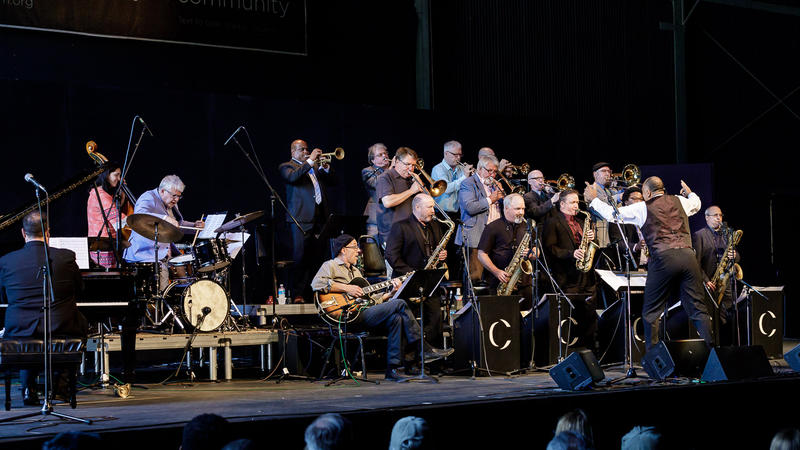 The Centrum All Star Big Band at Jazz Port Townsend 2018