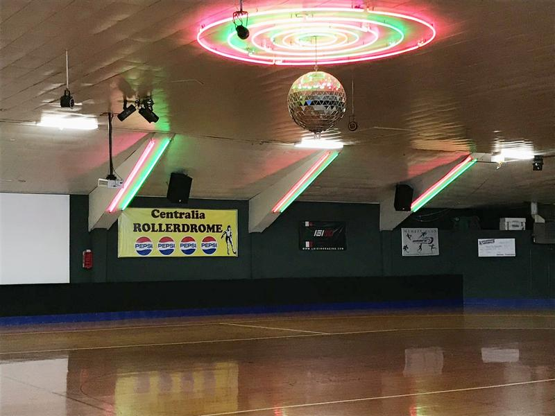 The Rainy City Roller Dolls use Centralia's Rollerdrome for practice and bouts