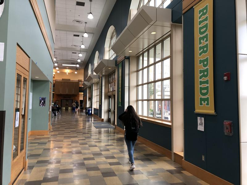 Roosevelt High School in Seattle is one of the schools that will lose a teacher as the district shifts staff because of lower-than-expected enrollment.