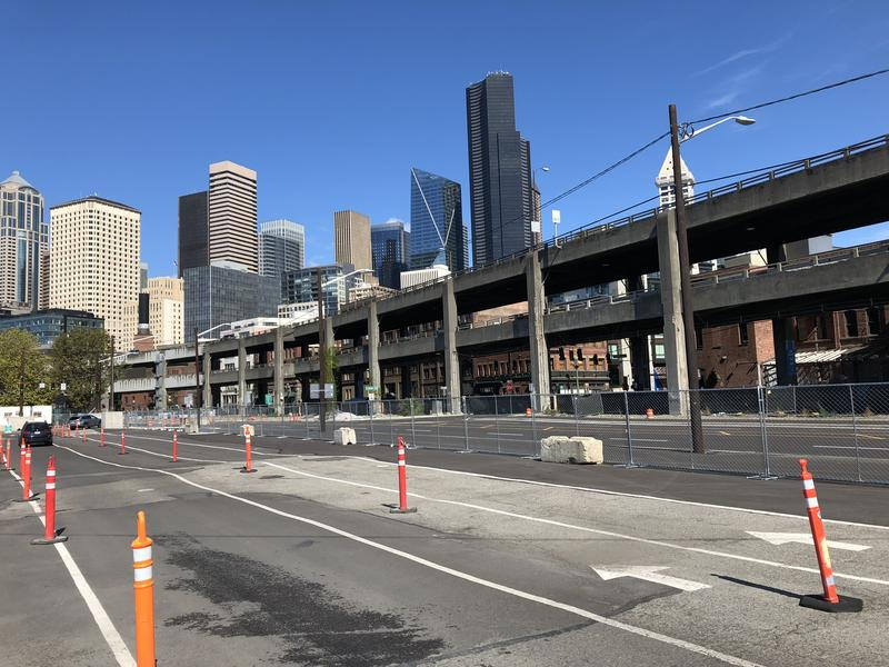 The seismically unsafe Alaskan Way Viaduct will be demolished starting in February after a new tunnel underneath downtown Seattle opens.