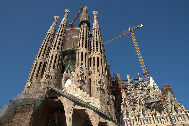 Construction of the Sagrada Familia, in Barcelona, began in 1882. It's still not done.