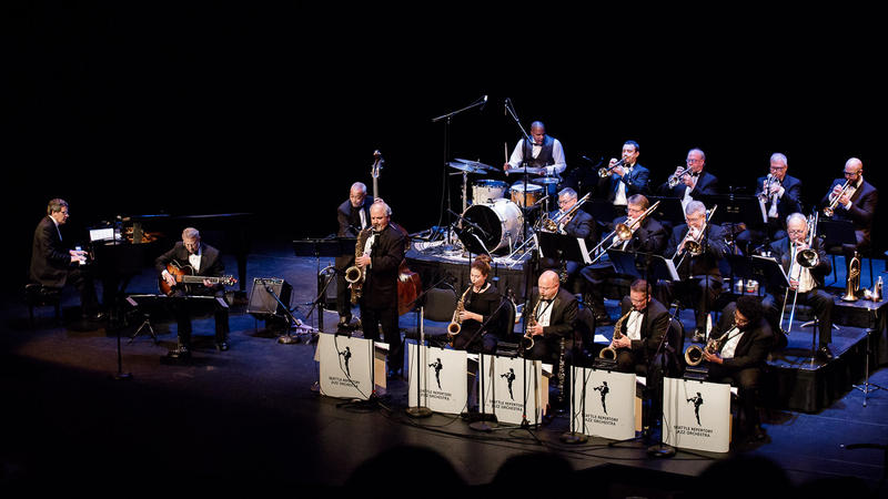 Seattle Repertory Jazz Orchestra at Kirkland Performance Center