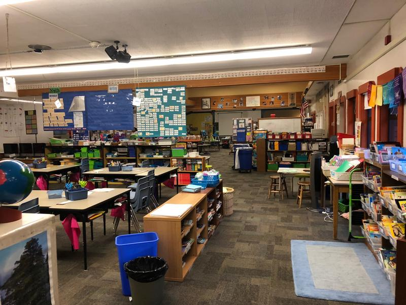 "Kimball Elementary is an ""open-concept school"" with very few interior walls, which parents said creates a loud, distracting environment not suitable for learning."