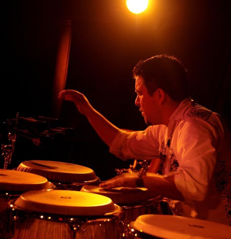 Percussionist Samuel Torres