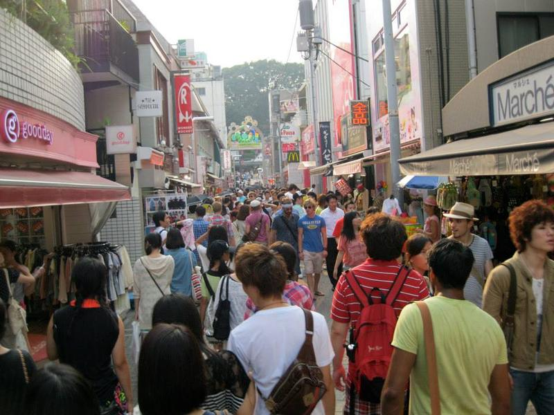 Some destinations will always be busy, like this popular shopping district in Tokyo. But KNKX travel expert Matthew Brumley has some advice to ease the effect of the congestion.