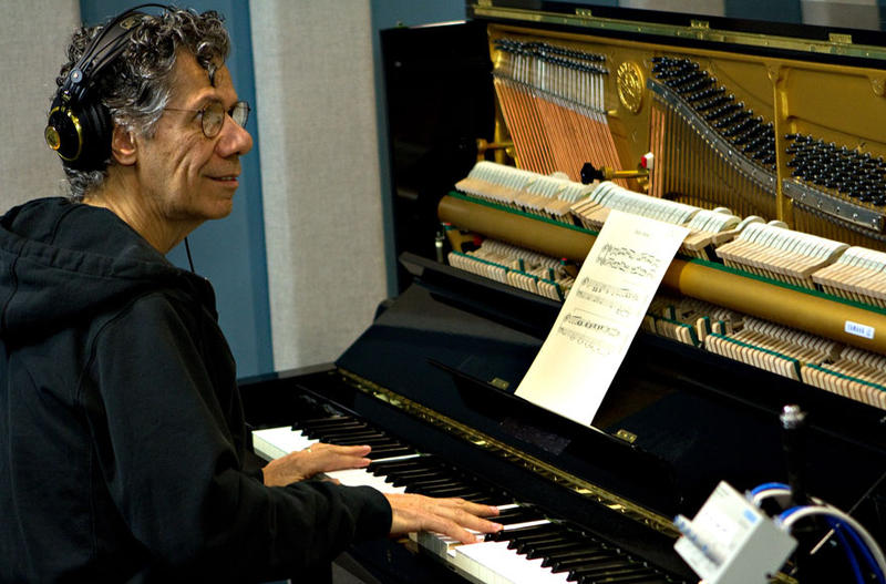 Pianist Chick Corea in the KPLU studios May 11, 2012.
