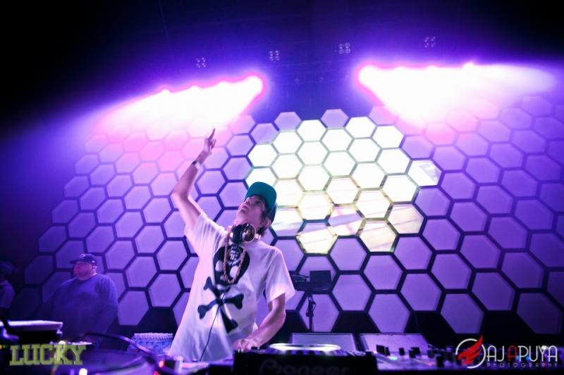 Texas based DJ Crizzly performing at WaMu Theater for Lucky 2012.