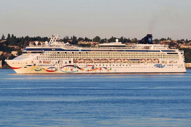 Cruise ships such as the Norwegian Star are cabable of holding their sewage for the 24 hours or less that they typically berth in Seattle. The Department of Ecology and several non profits are asking for a ban on all discharges in Washington waters.
