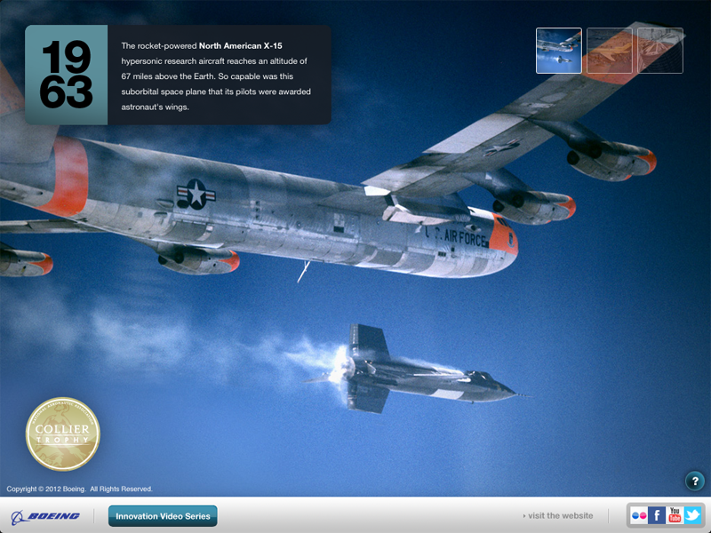 An image from Boeing's new app for iPad.