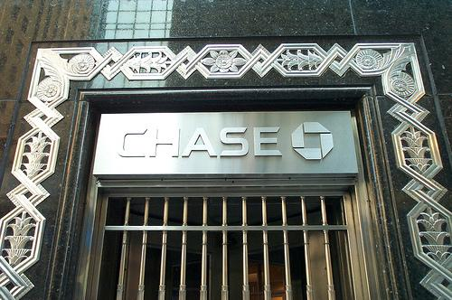 The Chase Bank branch at New York City's Chrysler building