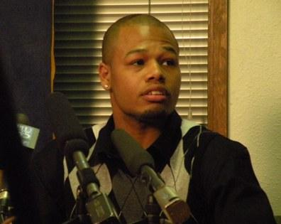 Christopher Franklin is one of two men planning to sue the city of Seattle over treatment by Seattle police.