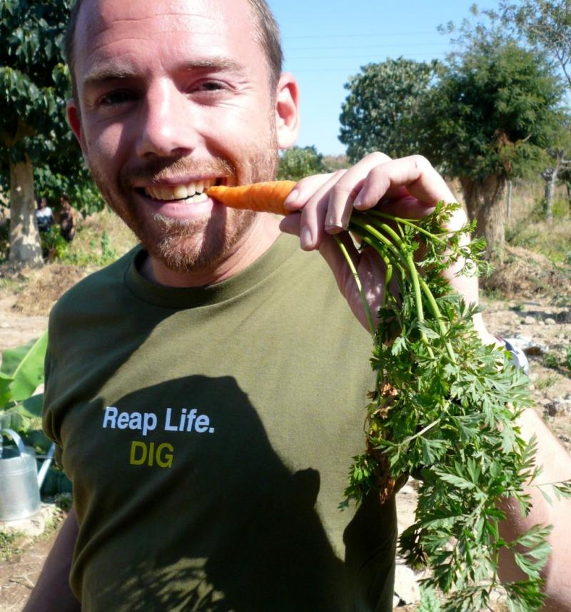Quick BIO: Noah Derman, 31, is development director for Development in Gardening in Atlanta and a University of Washington graduate.