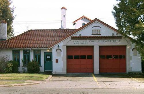 Fire Station #37 is a designated landmark.