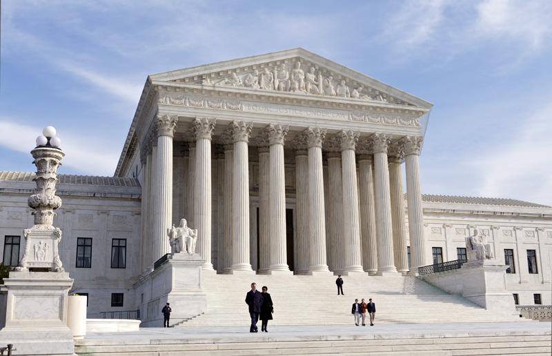 Scene of the final battle over Obama's health care law: The U.S. Supreme Court building.