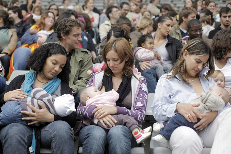 Does public breastfeeding bother you?