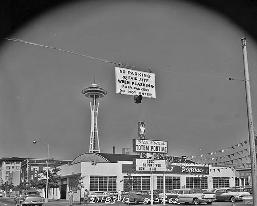 Expecting a parking crisis during the World's Fair, Seattle officials invested heavily … the crisis turned out to be too much available parking.