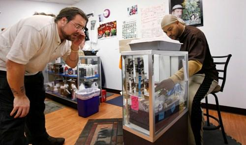 Feds put brakes on controversial medical pot dispensaries for Michaels craft store spokane