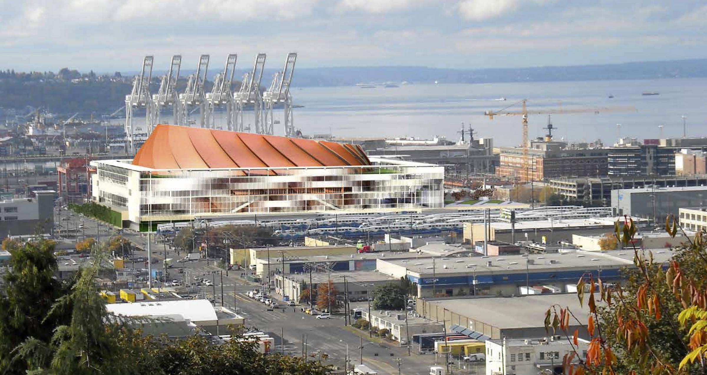 NBA — Not NHL — First For Seattle's Proposed Arena Project ...