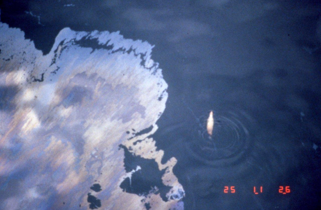 thesis statement exxon valdez oil spill