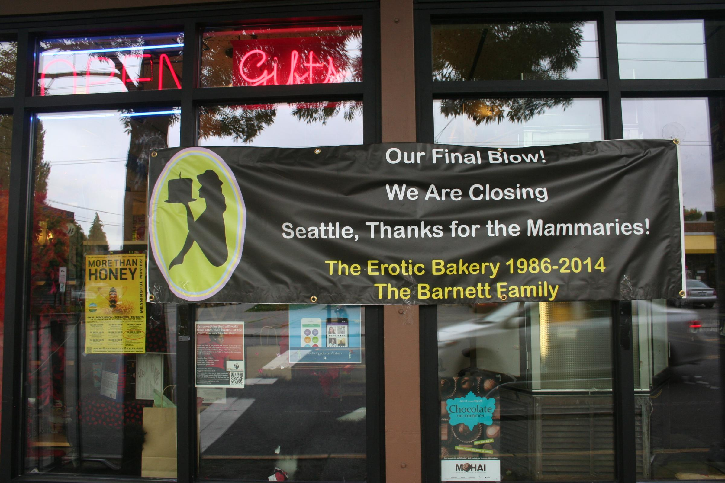 Seattles Erotic Bakery A Decades Old Institution To Close Its Doors