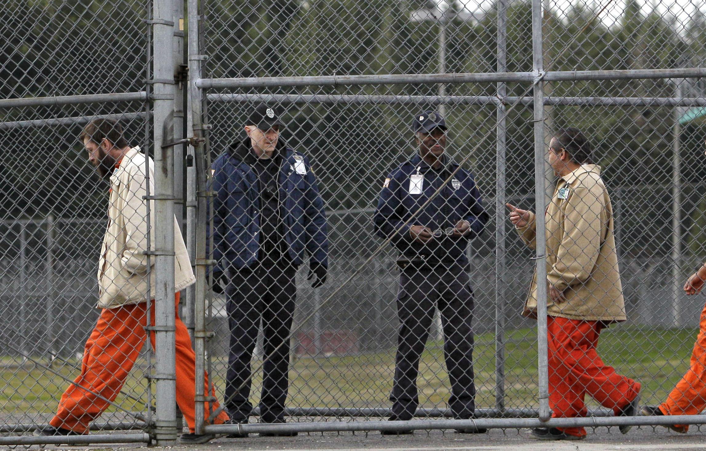 Prisoners released