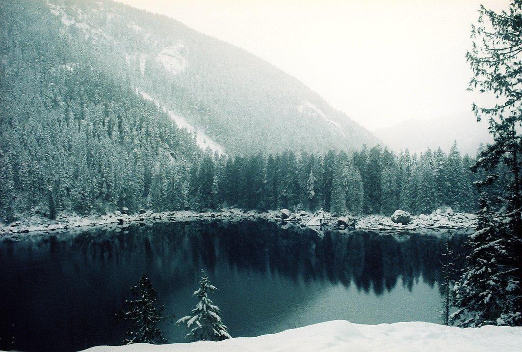 Balise défaillante au pays des caribous Lena_lake