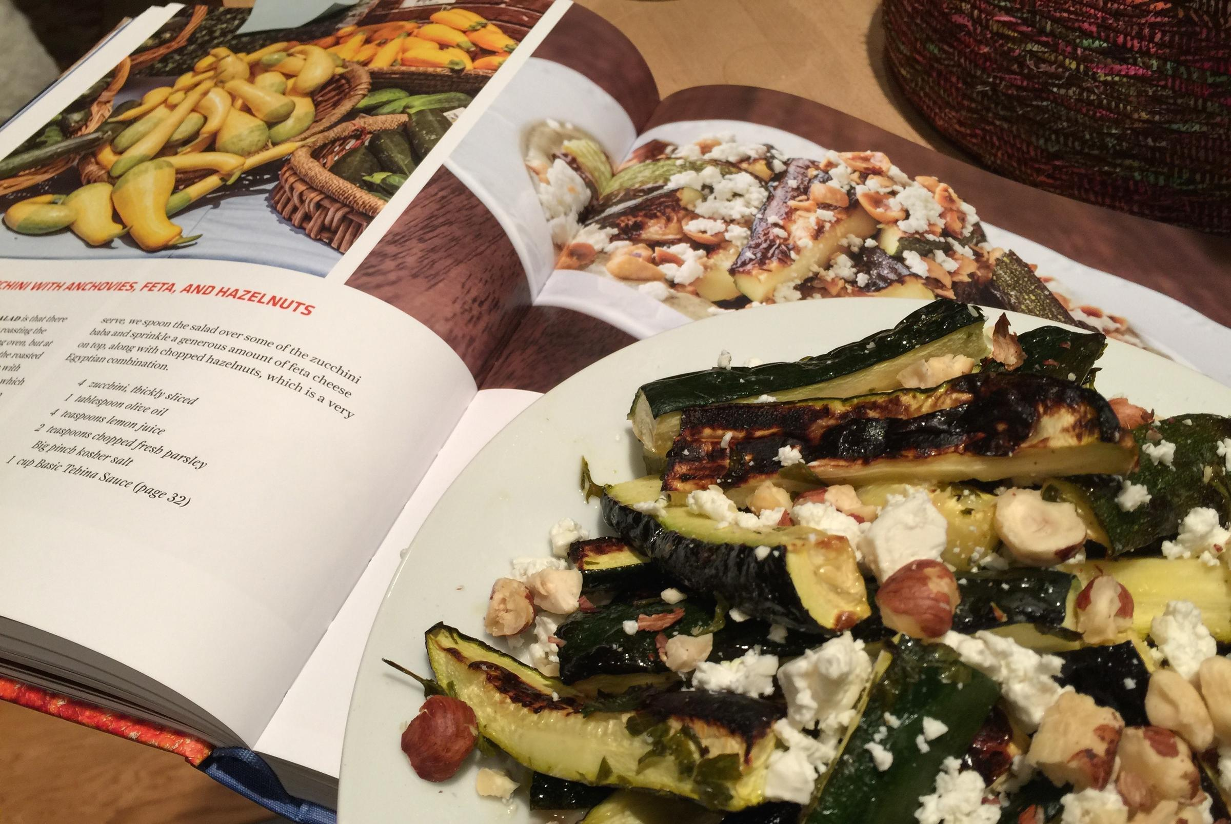 Food for thought the cookbook nancy leson says youve got to zahav from the zahav a world of israeli cooking roasted zucchini with anchovies feta and hazelnuts forumfinder Choice Image