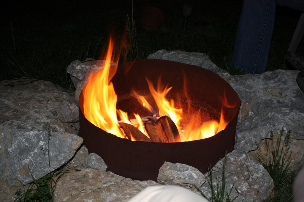 Fire Pit By Rich Bowen Is Licensed Under CC