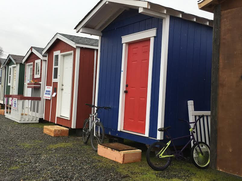Homeless Find Stability Safety In Tiny Houses In Seattle KNKX