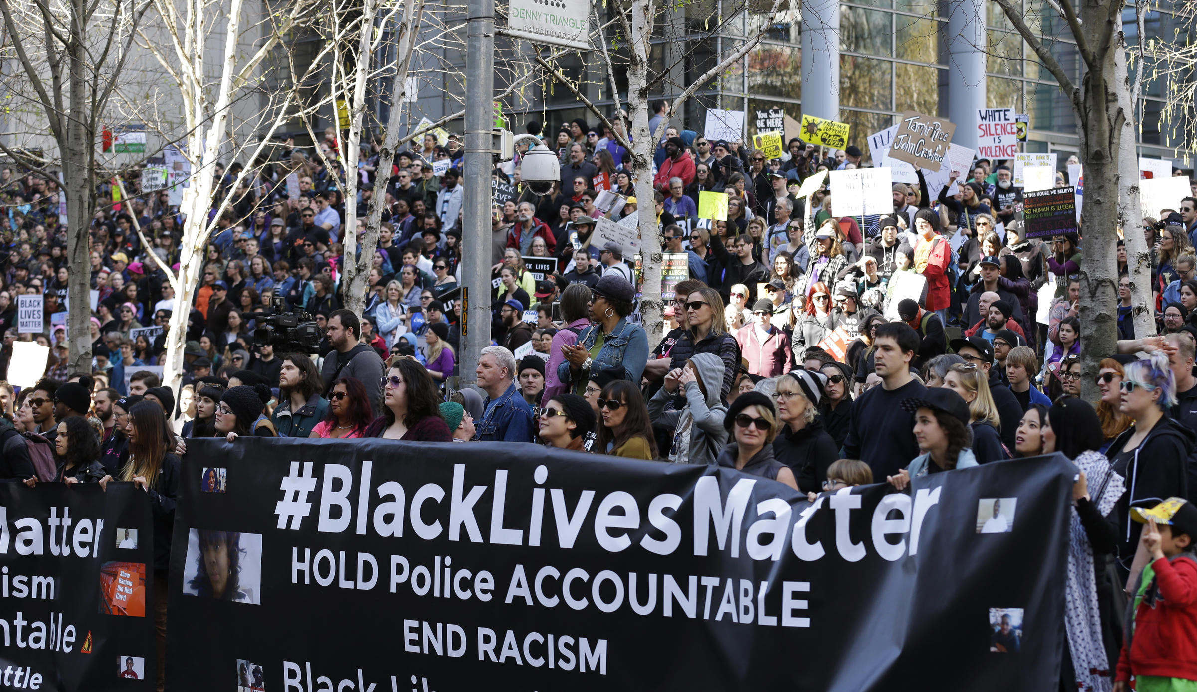 Black Lives Matter Activists March Seattle Saturday on Food Post