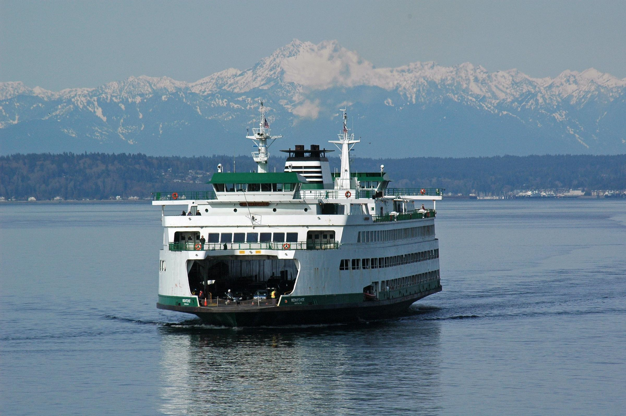 head of washington state ferries has plans to electrify the fleet | knkx