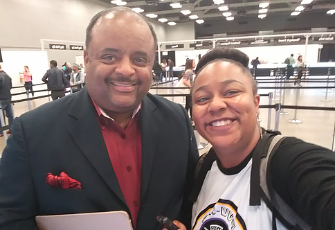 Renowned journalist, columnist, and former host of the daily news show, News One Now, Roland Martin interviews with Makalah Adams of PV-U Kno Student Radio Station