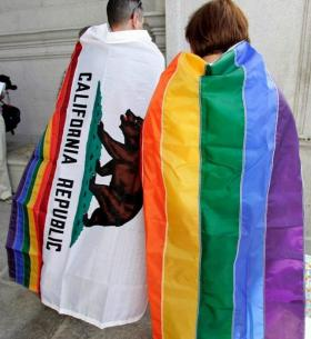61 percent of California voters say they support same-sex marriage, compared to the 48 percent who opposed Proposition 8 in 2008 and only 28-percent who backed gay marriage in 1977.