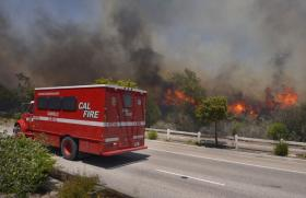 "California Governor Jerry Brown has declared this week ""Wildfire Awareness Week."""