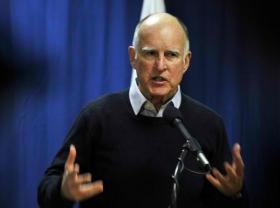 California Governor Jerry Brown's proposal includes two billion dollars for storage projects, like dams and reservoirs.